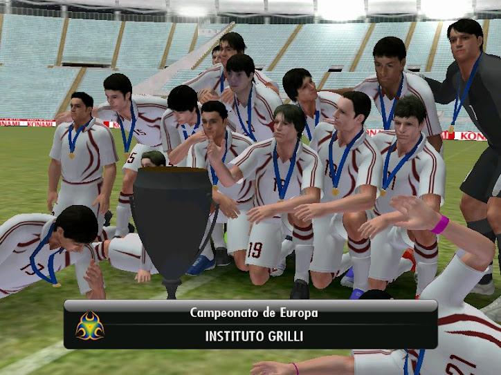 Campeones en  el pes 08