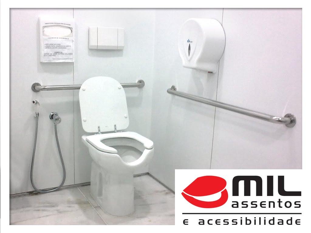 As Barras de Apoio Mil Assentos passam por um rigoroso processo de  #BB1017 1024x768 Banheiro Cadeirante Nbr 9050