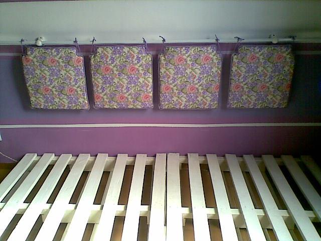 Decorarte cama japonesa de pallets encosto da cama for Cama tipo japonesa