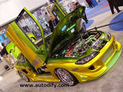 High-tech Motorcycle: tuning car 2011