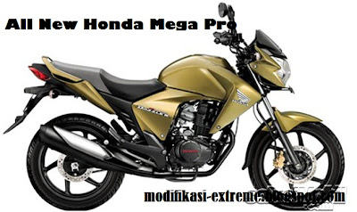 All New Honda Mega Pro
