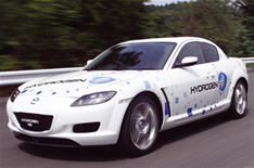 Mazda hybrid car