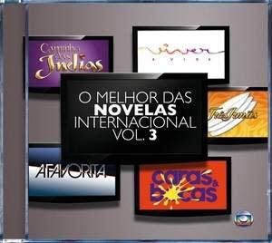 Baixar CD Capa Coletânea O Melhor das Novelas Internacional Vol.3 (2010)