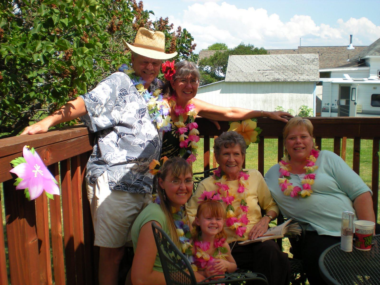 homestead wannabes hailey u0027s 3rd birthday a luau party