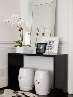 These Simple Console Tables Can Be Used Behind A Sofa To Push It Forward,  Especially If Youu0027re Too Far Away From The TV Or If You Donu0027t Have Enough  Room On ...