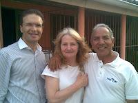 Pr. Evandro, Leda e Altamiro
