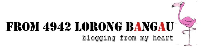 From 4942 Lorong Bangau