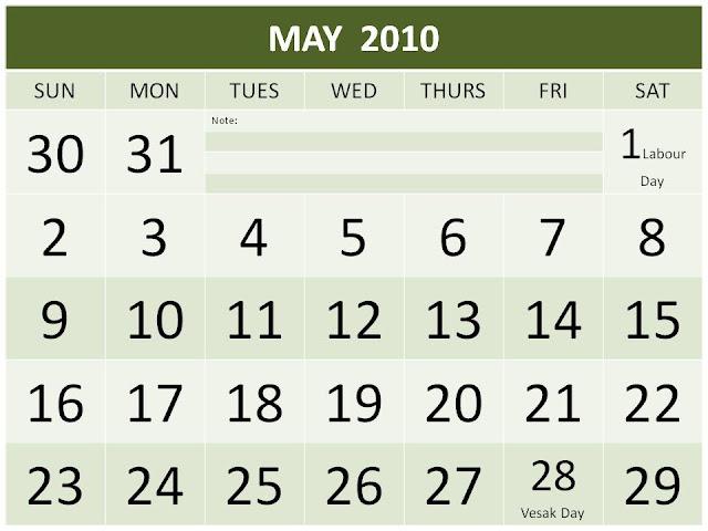 Singapore 2016 Public Holiday | New Calendar Template Site