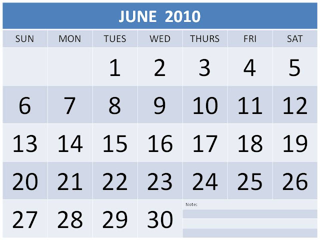 2010 monthly calendar printable. Monthly Calendar 2010: