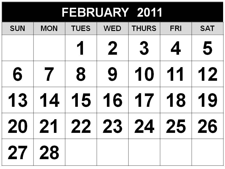 Reiner G Manopo. Printable 2011 Calendar -