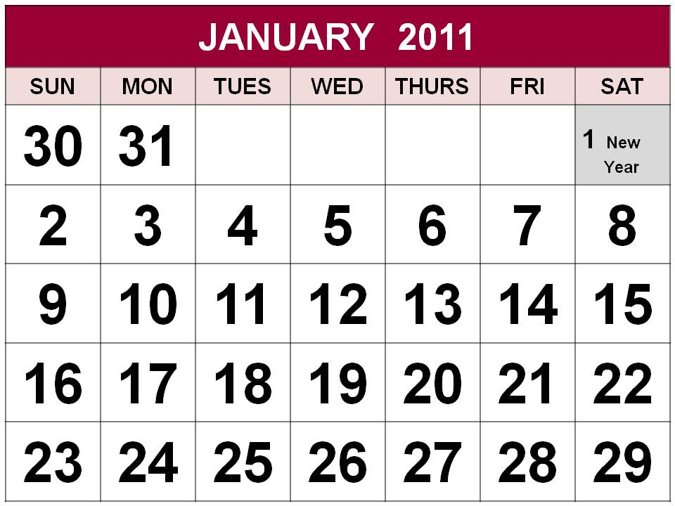 FHM Philippines - December 2010 2011 calendar philippines printable with