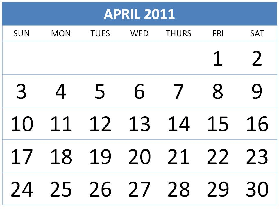 march and april calendars. march and april calendars 2011