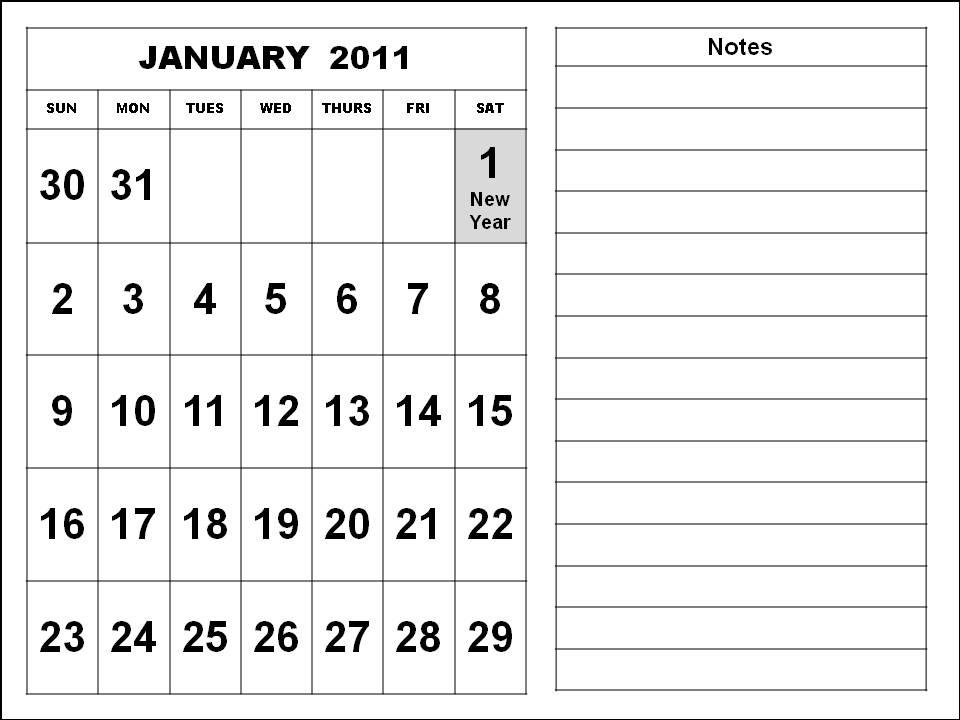 february 2011 calendar with holidays. February 2011 Calendar Sample