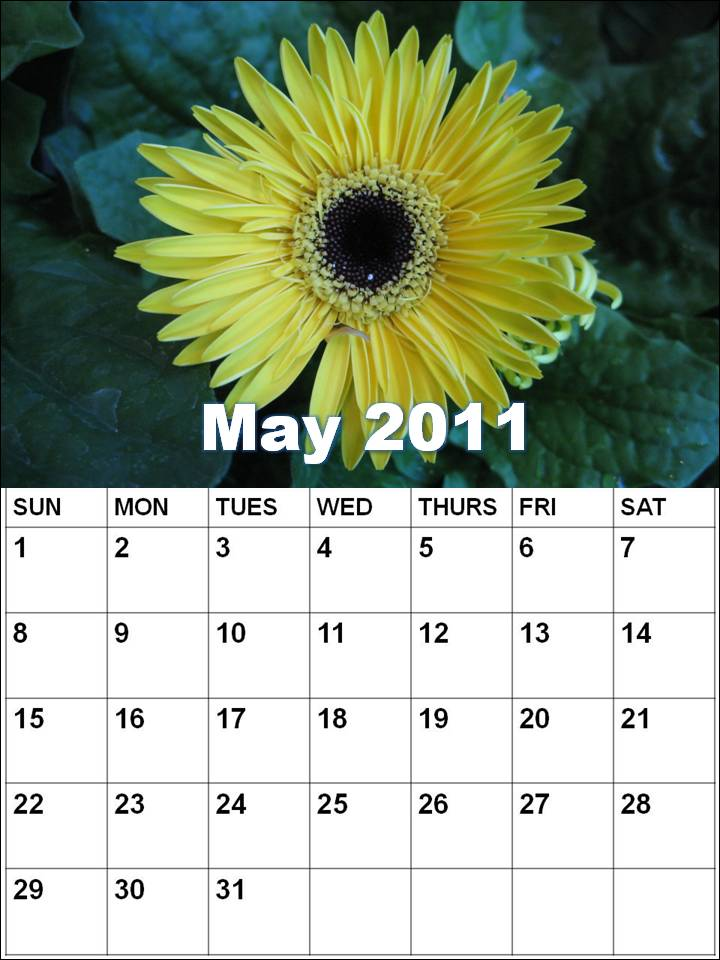 blank calendar 2011 may. A lank year calendar janMonth