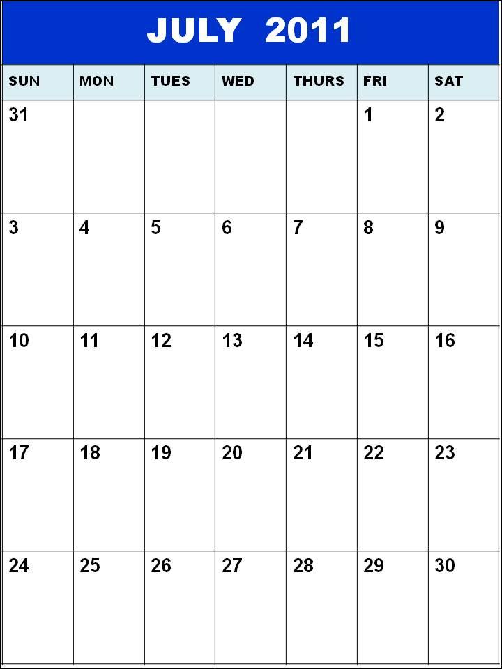 blank july calendar 2011. lank july calendar 2011.