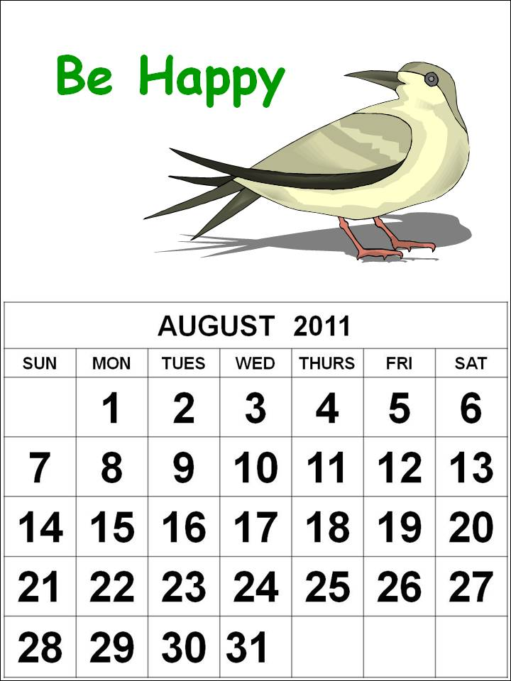 free yearly calendar 2011. FREE CUTE YEARLY CALENDAR 2011