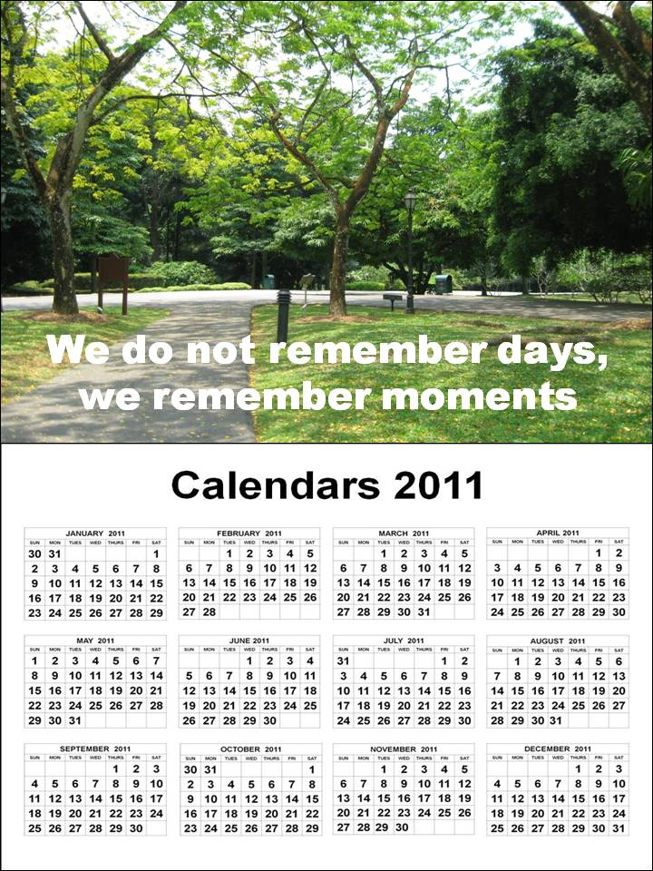 january to december 2011 calendar. January to December To