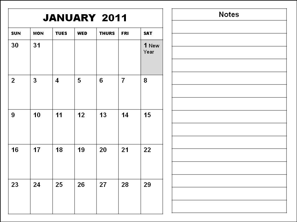 january 2011 calendar with holidays. January 2011 Calendar Singapore with Holidays Printable