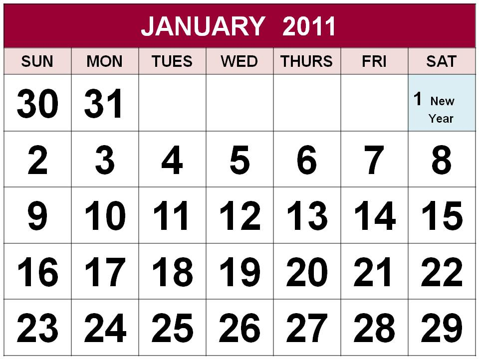 December 2011 holiday calendar for Canada and the United States. High .