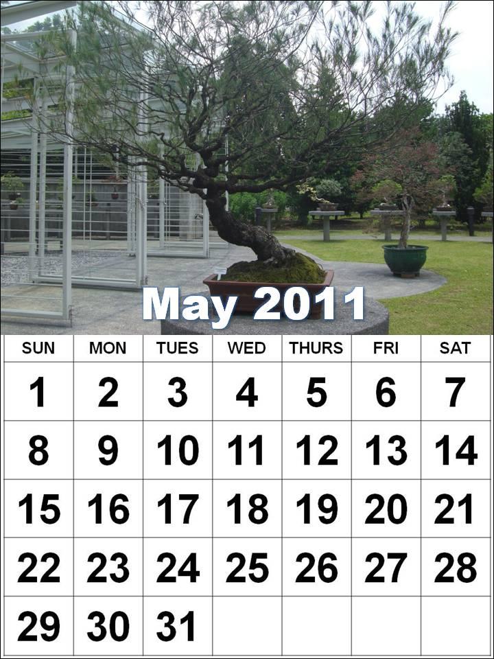 may calendar 2012. printable may calendar 2011.
