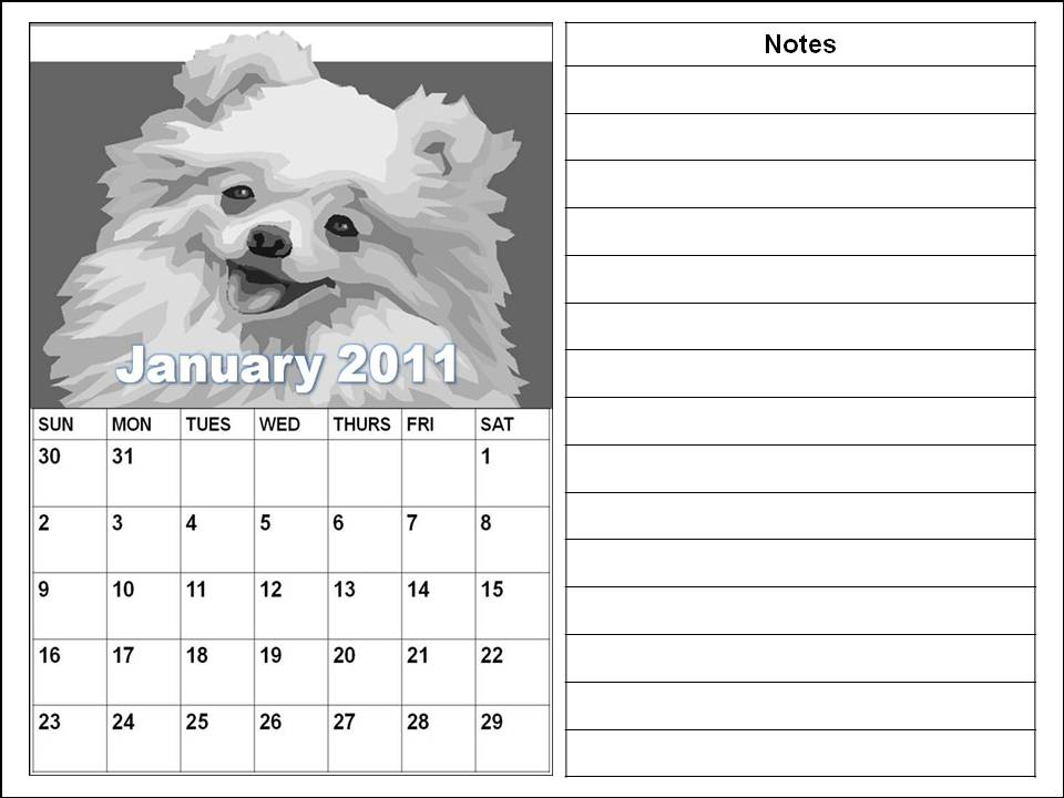 cute puppies pictures to color. Cute Planners 2011 or Blank