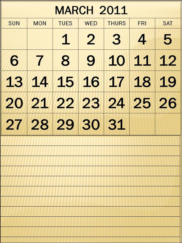 2011 march calendar printable. 2011 calendar free printable