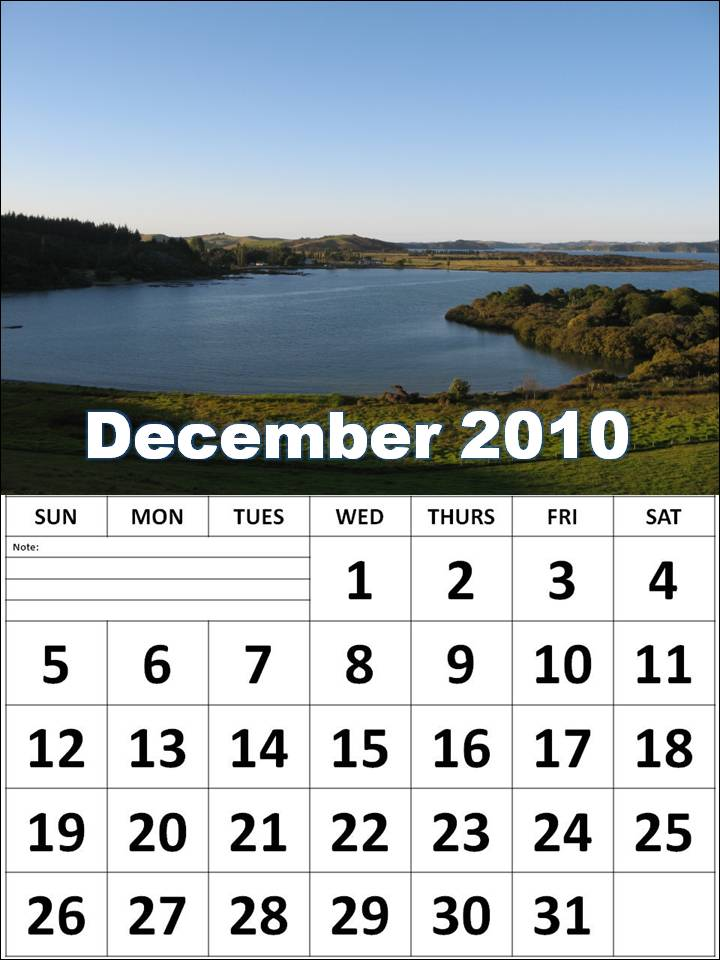 printable december 2010 calendar. December 2010 Calendar