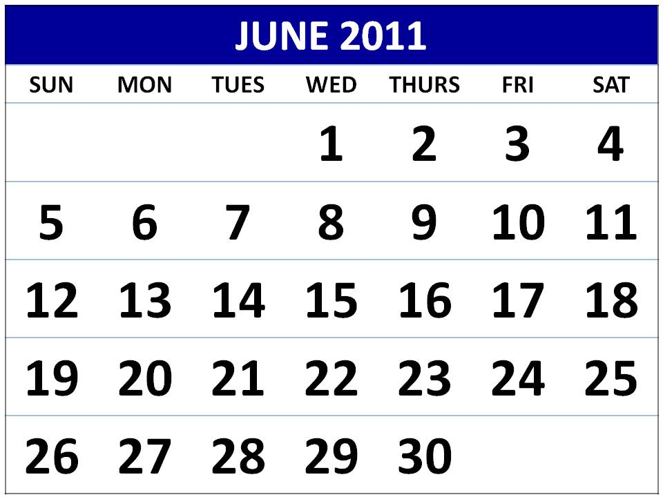june 2011 calendar images. june 2011 calendar print. june