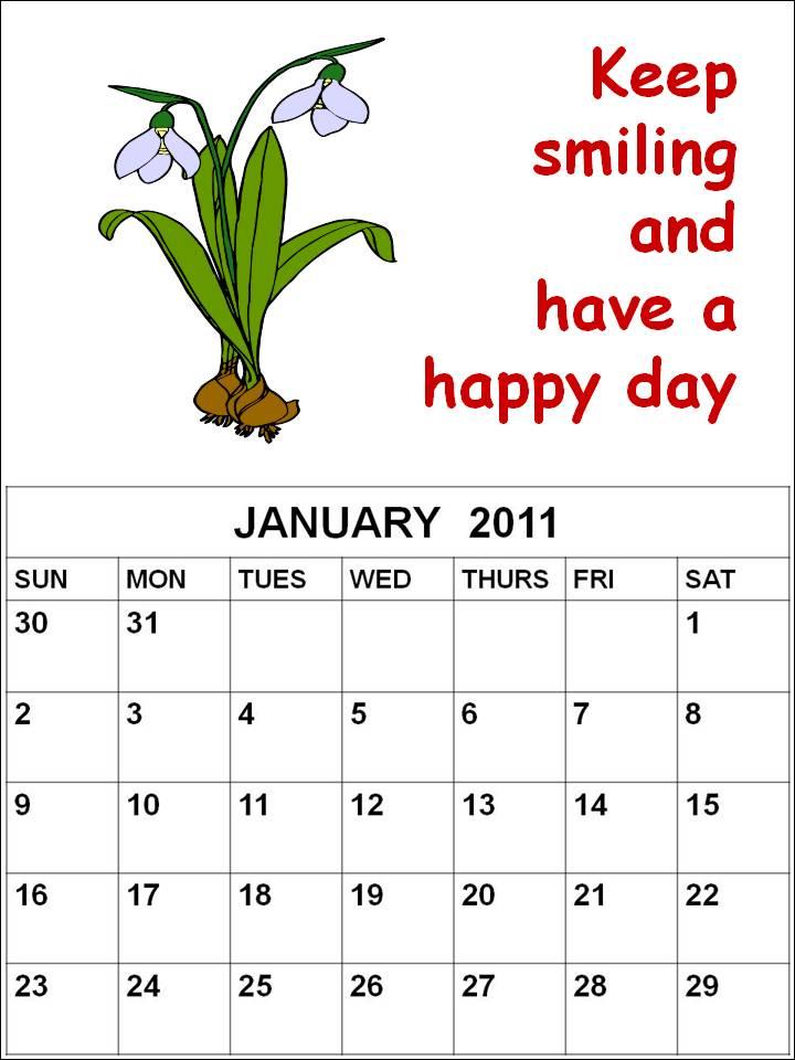 blank march calendar 2010. 2010 Blank Calendar 2011 March