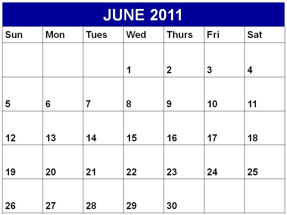 june 2011 calendar printable. june 2011 calendar print. june