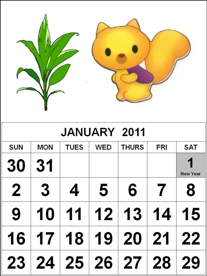 free printable calendars 2011 with pictures. printable calendar 2011 2012