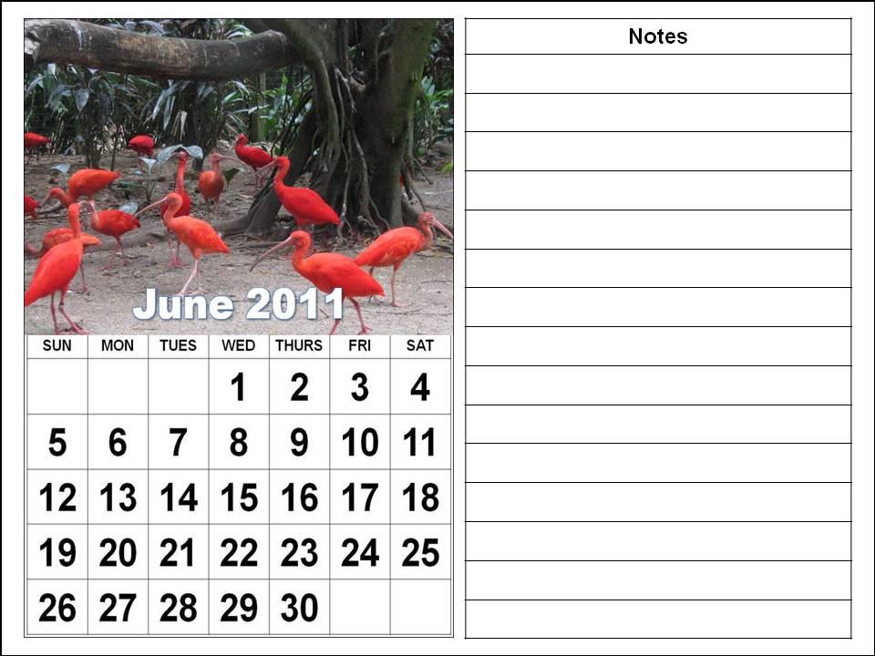 2011 Calendar Printable Free. Free Printable June 2011
