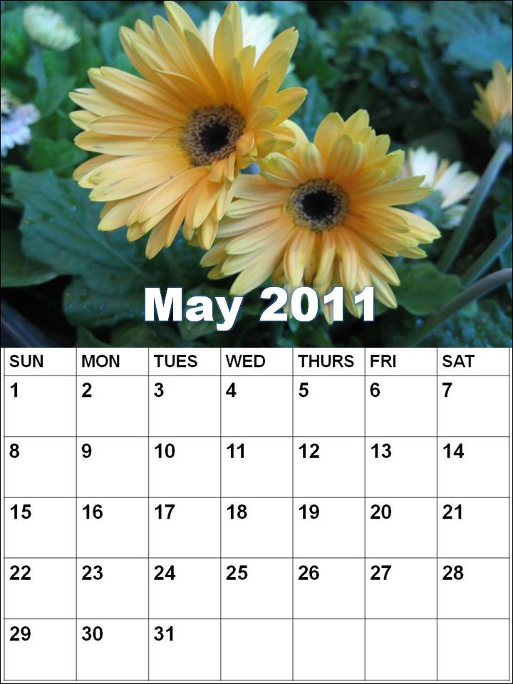 calendars 2011 may. Blank Calendar 2011 May or