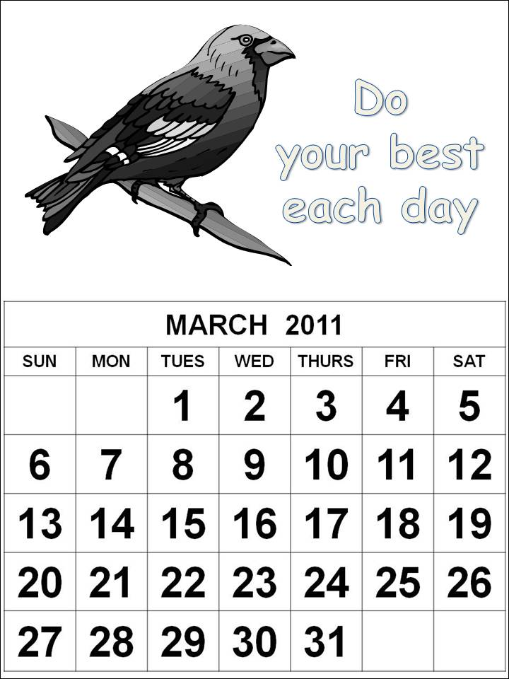 june 2011 calendar page. COLORABLE KIDS 2011 CALENDAR