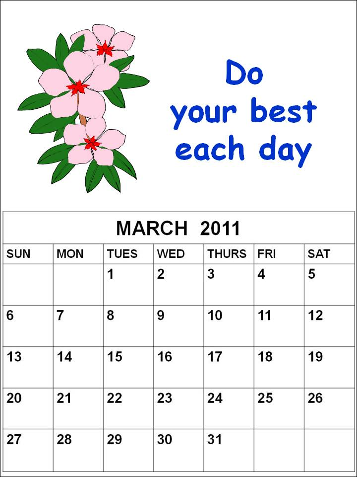printable calendars for march 2011. Blank+march+2011+calendar+