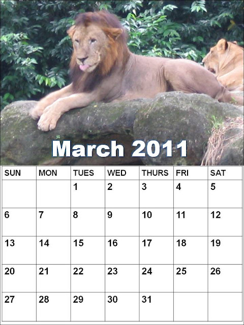 calendar 2011 template march. calendar for 2011 march
