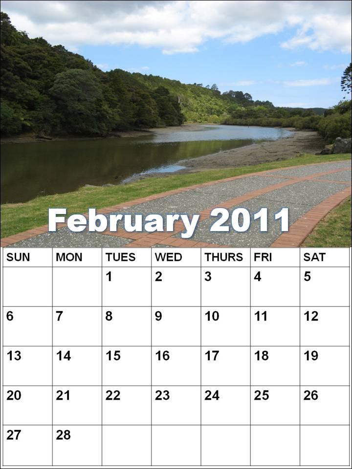 February 2011 Calendar Pdf. blank calendar pdf