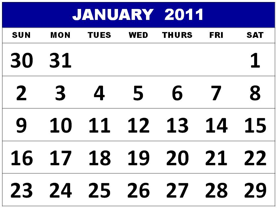 january calendars. Bleach January Calendar 2011