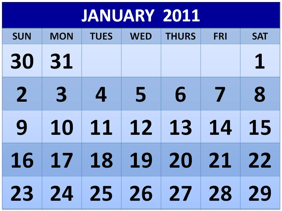 blinds january 2011 calendar printable landscape ~ funny pictures cool