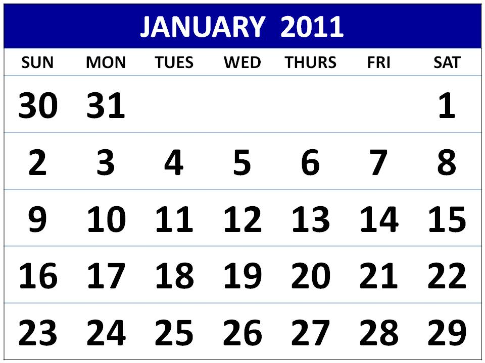 Printable Dodecagon Form - Free Printable Monthly Calendar 2010 in Fours.