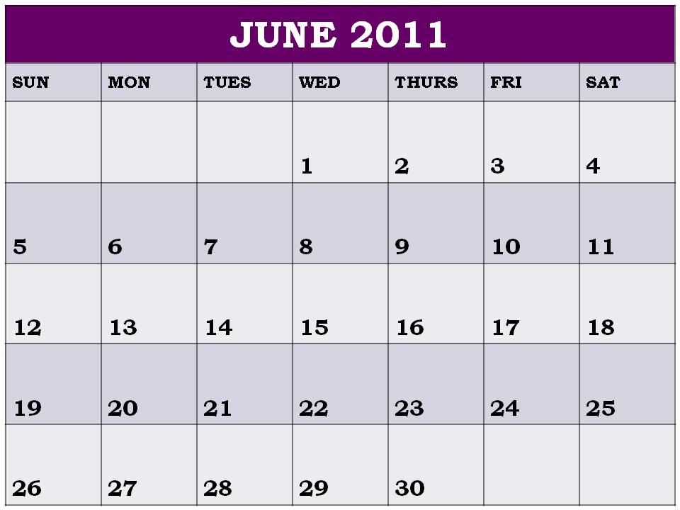 Result Calendar June : June calendar uk planner outlook