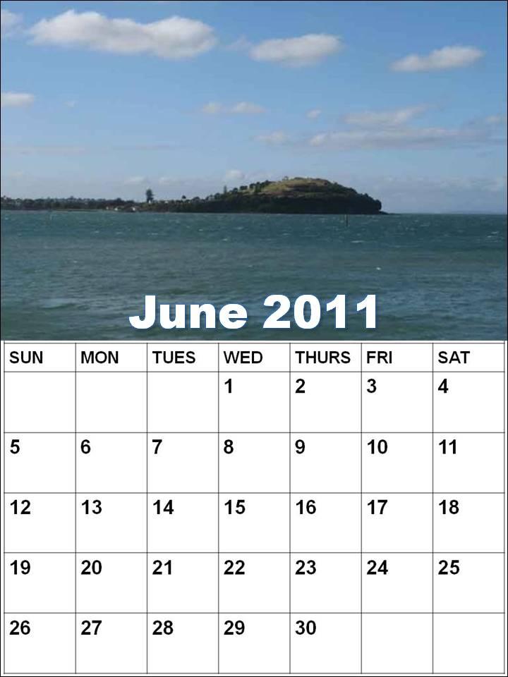 june 2011 calendar. printable june 2011 calendar