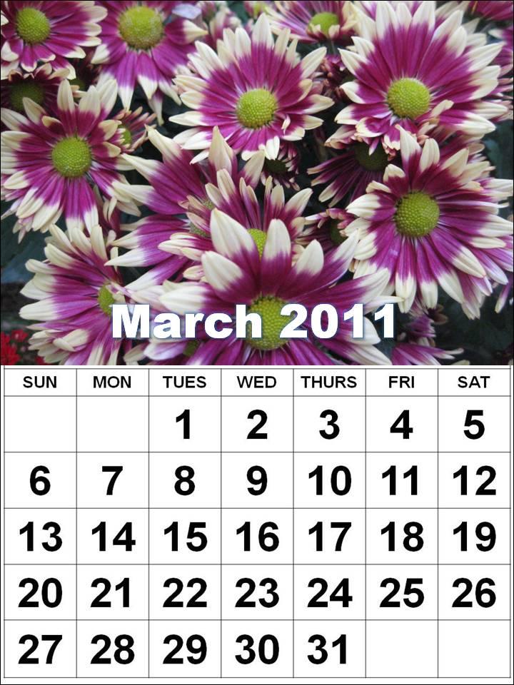march 2011 calendar printable. +blank+calendar+march+2011
