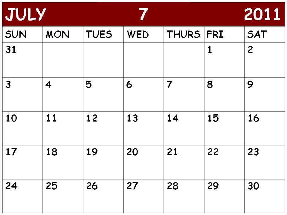july 2011 calendar. images july 2011 calendar