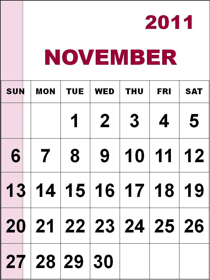 November Calendar Diy : The temptation news november calendar