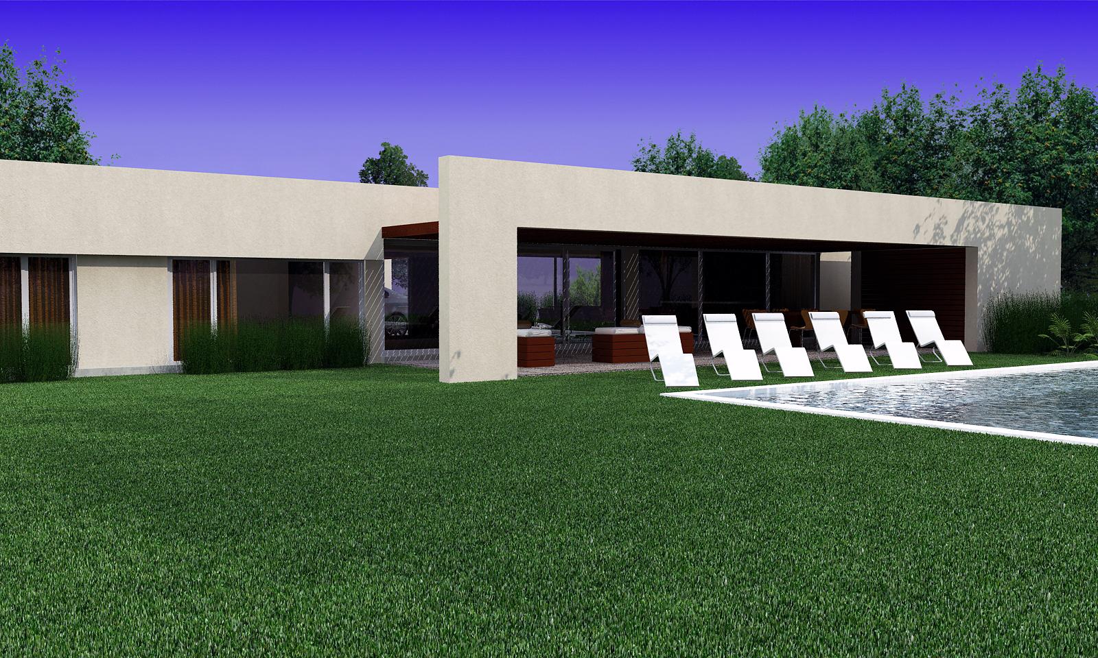 Estudio Rom Arquitectura Residencial Aldea Golf I