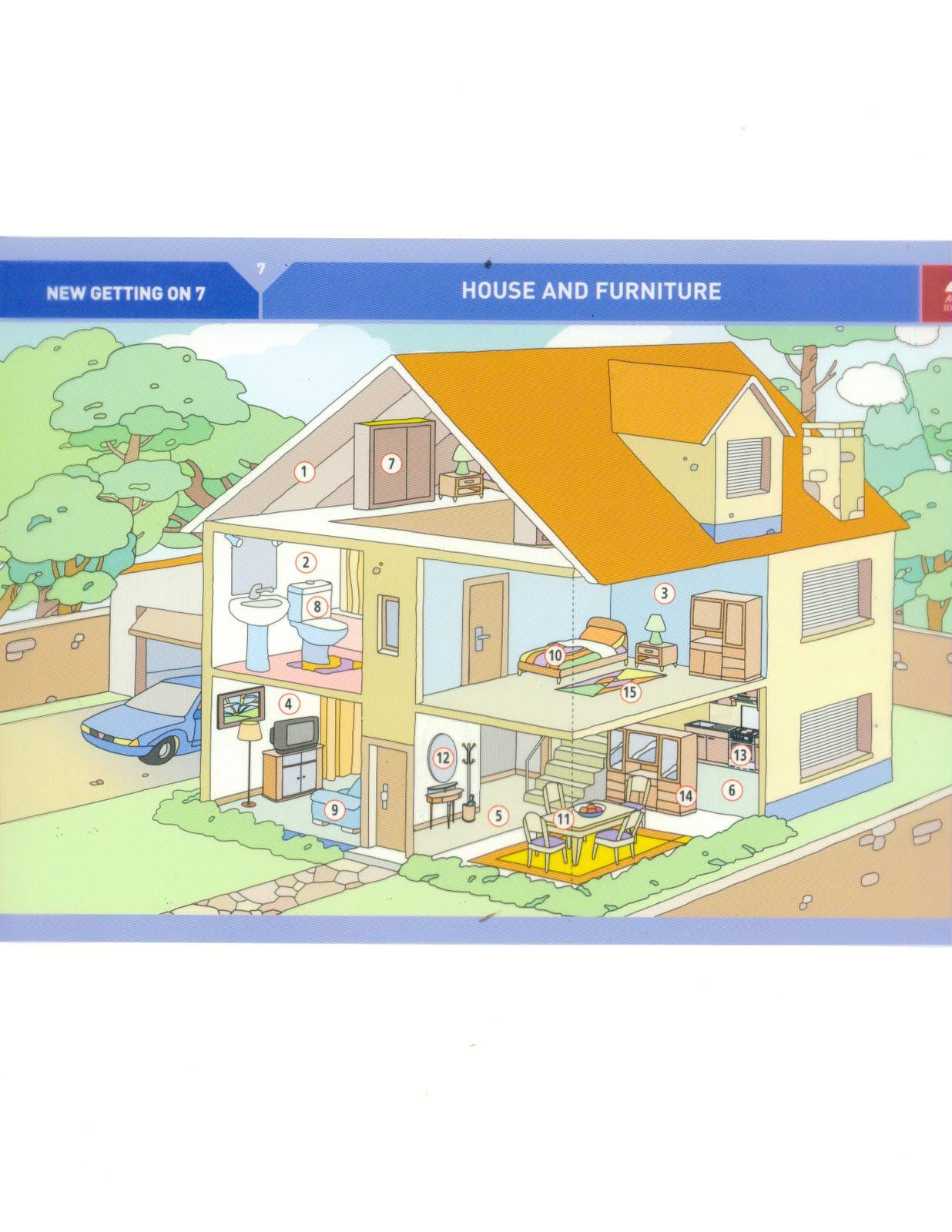 English4U: Describing a house