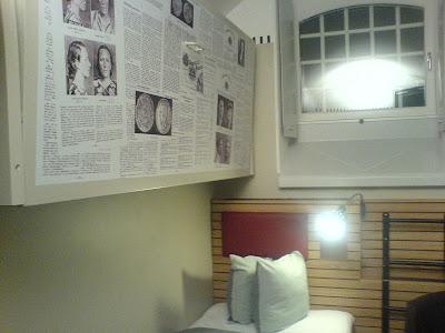 min alldeles egna cell på Hotell Långholmen