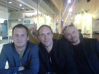 Ola, Patrik & Tobias på ett sunkigt hak i Philadelphia