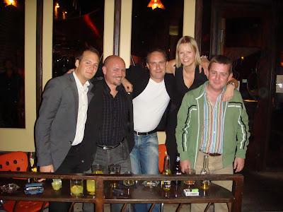 Ola, Tobias, Patrik, Anna & Connor från Core i England